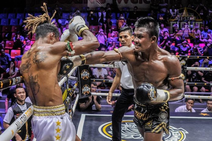 Buakaw Banchamek vs Niclas Larsen headlines All Star Fight Phuket