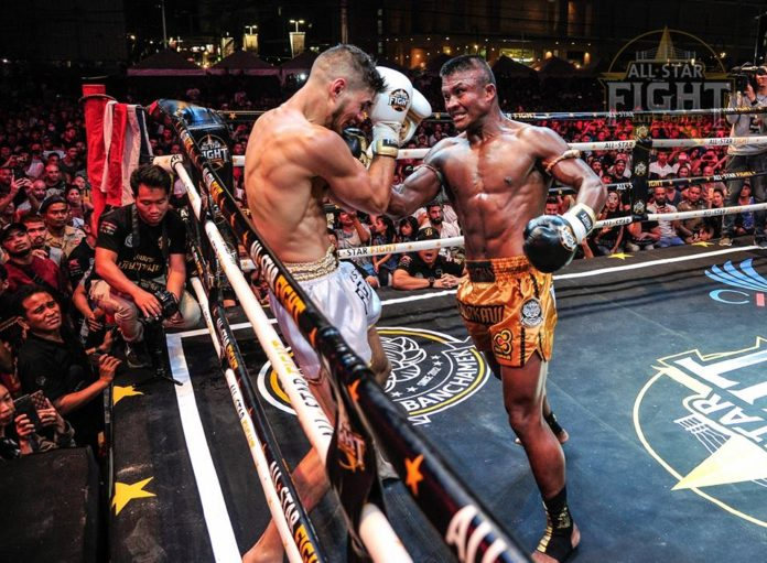 Buakaw Banchamek dominates Niclas Larsen at All Star Fight Phuket