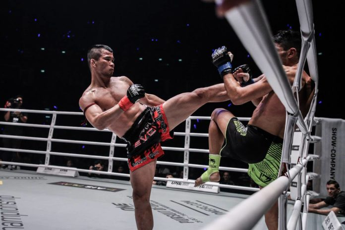 Nong-O Gaiyanghadao vs Han Zi Hao headlines ONE Championship: Clash of Legends