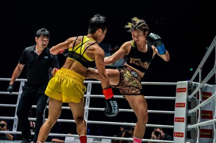 Stamp Fairtex vs Janet Todd for ONE Championship Atomweight Muay Thai title