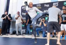 UFC 234 Open Workouts recap