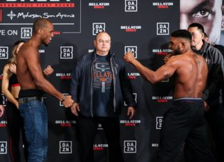 Bellator 216: MVP vs. Daley weigh-ins