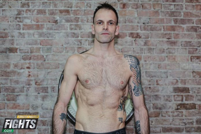 Jonny Lee Miller Muay Thai fight weigh-in