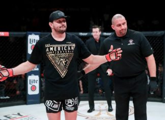 Bellator 215: Mitrione vs. Kharitonov ends in no contest due to low blow