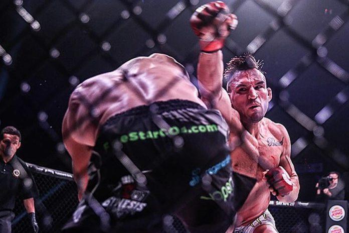 Michael Chandler defends Bellator lightweight title against Patricio Pitbull