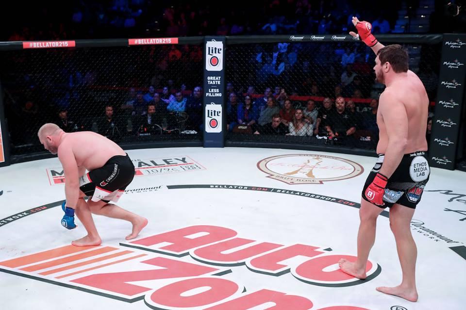 Bellator 215: Mitrione vs. Kharitonov ended in No Contest