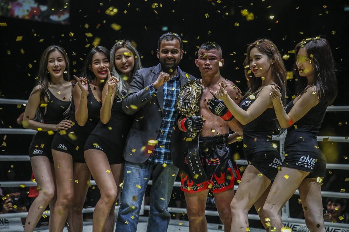 Nong-O Gaiyanghada becomes ONE Bantamweight Muay Thai champion