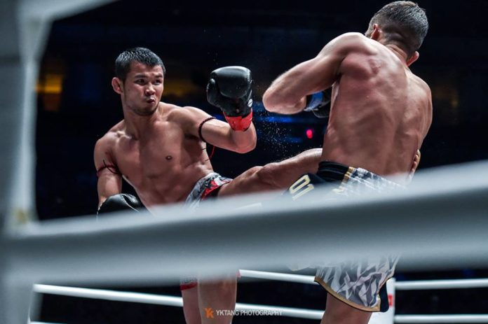 Nong-O Gaiyanghadao faces Han Zi Hao for ONE Championship Bantamweight Muay Thai