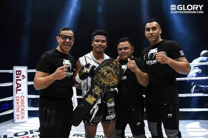 Petchpanomrung Kiatmookao retains featherweight title at GLORY 63 Houston