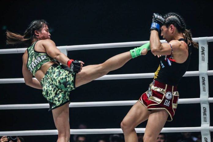 Stamp Fairtex defeats Janet Todd at ONE Call to Greatness