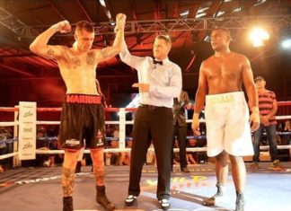 Jason Whateley defeats Jonasa Kavika at Wildfighter boxing