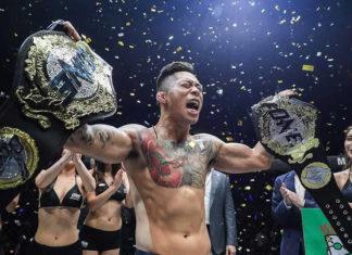 Martin Nguyen defends ONE Featherweight title against Narantungalag Jadambaa