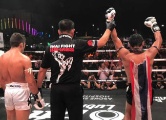 Saenchai defeats Javad Bigdeli at Thai Fight Nakhon Si Thammarat