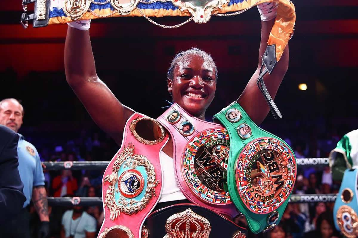 Claressa Shields defeats Christina Hammer, unifies women's middleweight titles