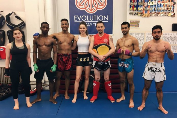 Lilian Dikmans at Evolution Muay Thai New York City