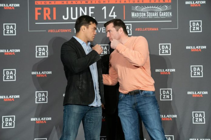 Lyoto Machida vs Chael Sonnen headlines Bellator 222
