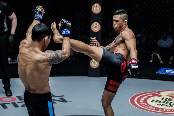 Martin Nguyen defeates Narantungalag Jadambaa at ONE Roots of Honor