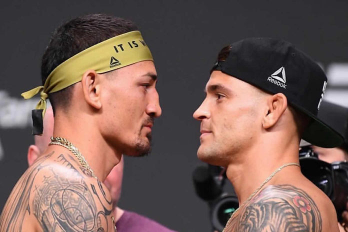 Max Holloway vs Dustin Poirier headlines UFC 236