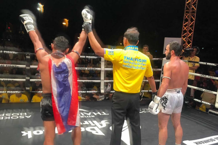 Saenchai defeats Maksim Manafov at Thai Fight Samui