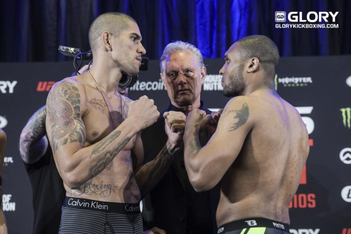 Alex Pereira vs Jason Wilnis 3 headlines GLORY 65
