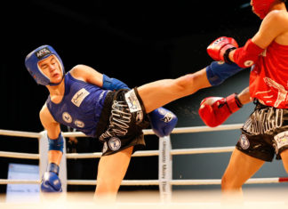 Muay Thai at Arafura Games 2019 in Darwin, Australia