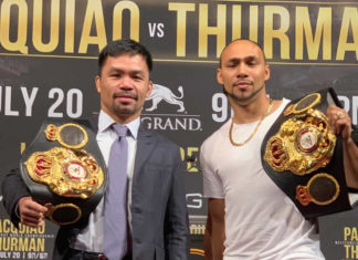 Manny Pacquiao faces Keith Thurman for WBA title in Las Vegas
