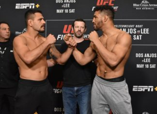 Rafael Dos Anjos vs Kevin Lee headlines UFC Rochester fight card