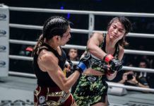 Stamp Fairtex vs Alma Juniku headlines ONE Legendary Quest