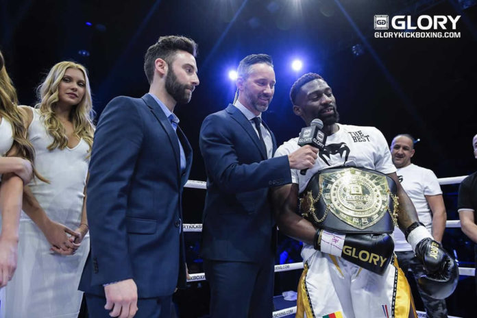 GLORY 66 Paris features three title bouts