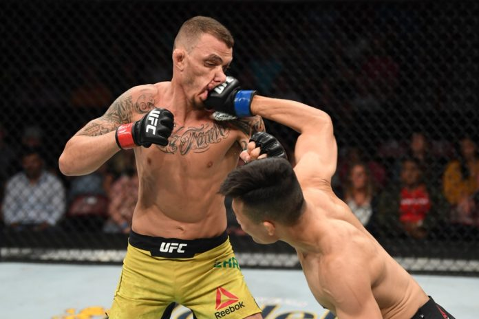 UFC Greenville: Chan Sung Jung stops Renato Moicano