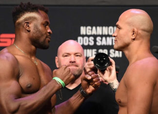 UFC Minneapolis Francis N'Gannou faces Junior Dos Santos