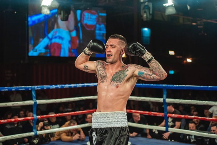 Jason Whateley defeats Victor Oganov at Wildfighter Boxing Round 2