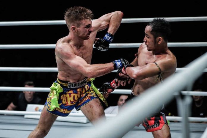 Jonathan Haggerty defends ONE Flyweight Muay Thai title against Rodtang Jitmuangnon