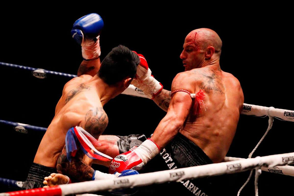 Throwback Muay Thai: Total Carnage 2 full fights