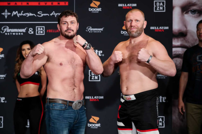 Matt Mitrione vs Sergei Kharitonov 2 set for Bellator 225
