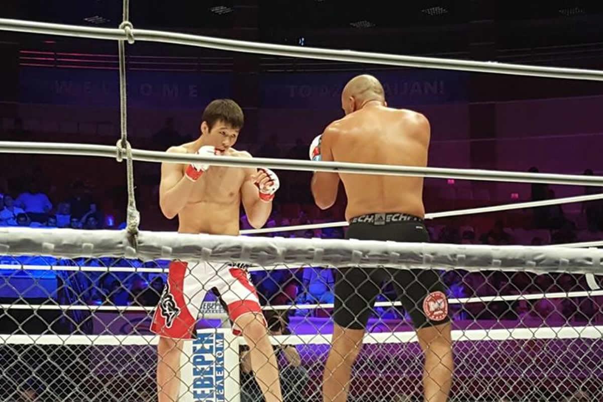 M-1 Challenge 102 fight card, Rakhmonov vs. Lacerda
