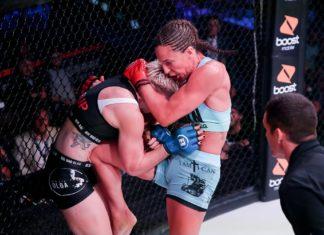 Bellator 224: Julia Budd defeats Olga Rubin by TKO in the first round
