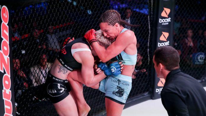 Bellator 224: Julia Budd bat Olga Rubin de TKO au premier tour