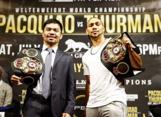 Manny Pacquiao vs. Keith Thurman headlines FOX PPV fight card