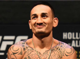 Former UFC featherweight champion Max Holloway
