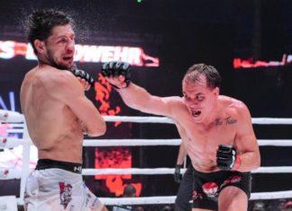 M-1 Challenge 102: Nate Landwehr defeats Viktor Kolesnik