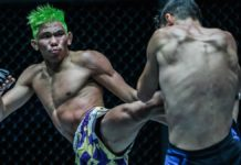 Petchdam defends ONE Flyweight Kickboxing title against Ennahachi