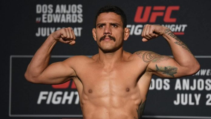 UFC on ESPN 4 Dos Anjos vs Edwards weigh-ins