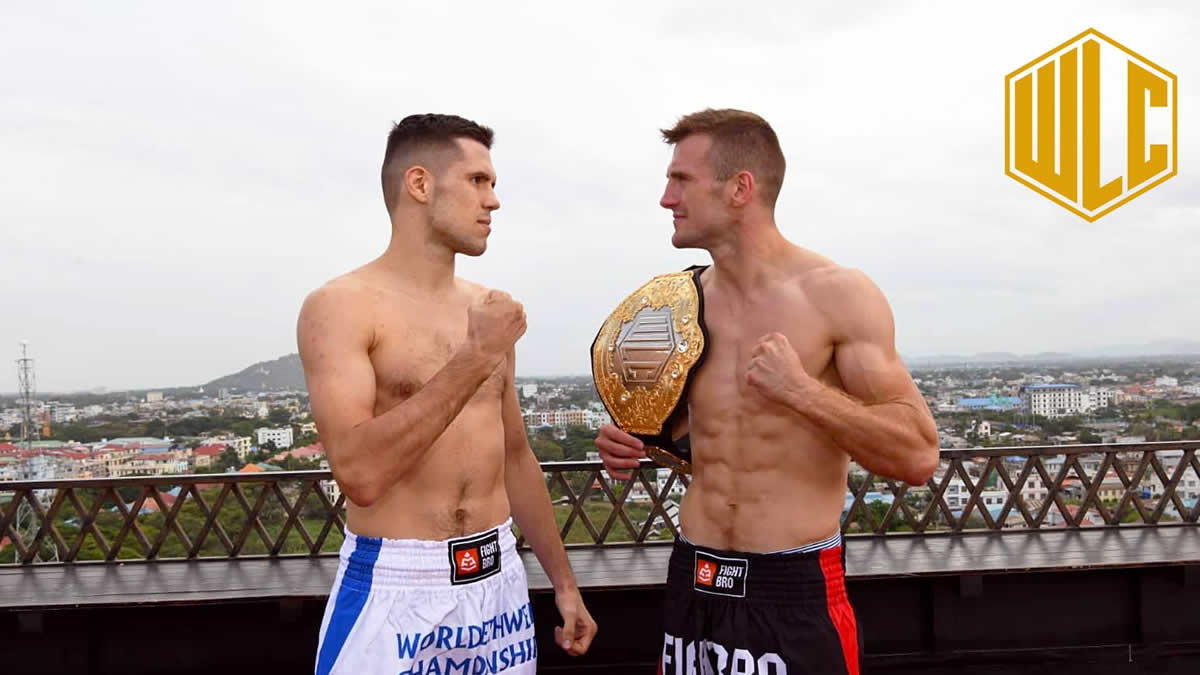 Artur Saladiak defends his light middleweight title against Sasha Moisa