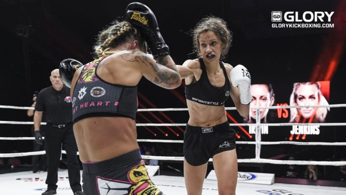 GLORY 68 Miami: Bekah Irwin vs Crystal Lawson rebooked