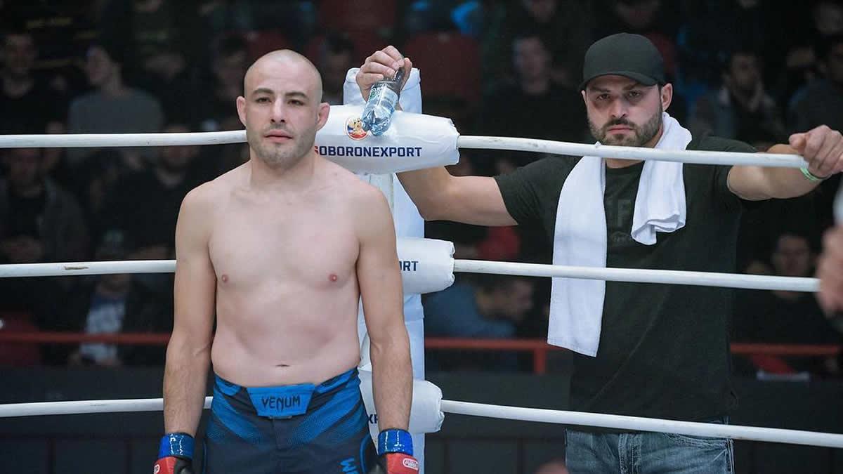 Chris Kelades takes revenge against Alexander Pletenko