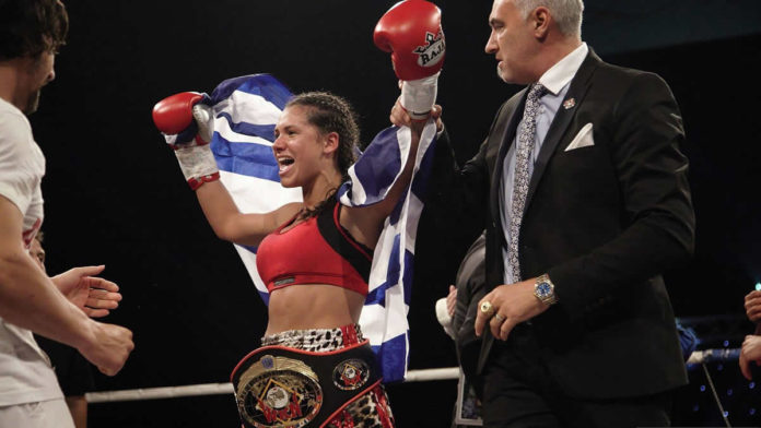 La bataille 14 de WKN: Marianna Kalergi victorieuse sur Ashley Gilson