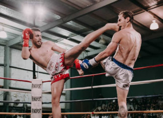 Misagh Norouzi kicks off boxing journey