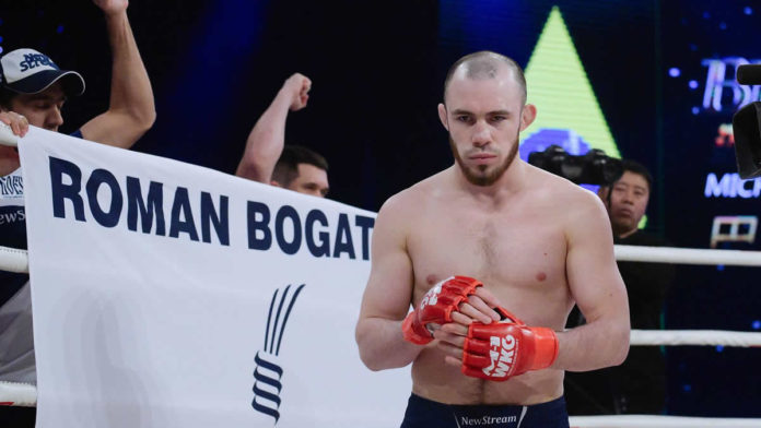 Bogatov défend le titre du M-1 Challenge Lightweight contre Lebout