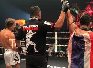 Saenchai defeats Cem Deniz at Thai Fight Kham Chanod